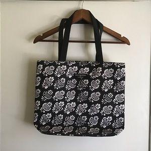 CLINIQUE Marimekko black bag